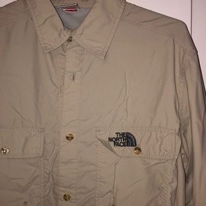 The north face fishing shirt